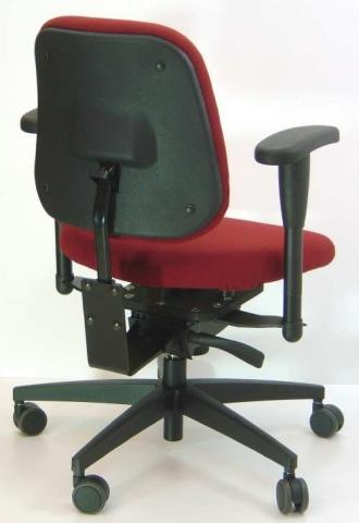 Schwipp Bürostuhl mit Pendelsitz und aktiver Lordosestütze - (Verspannung, Muskulatur, Halswirbelsäule)