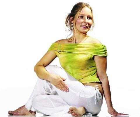 Yoga Asana Drehsitz - (Angst, entspannung, Prüfungsangst)