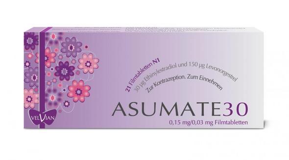 Pille Asumate 30 (Verhütung, Hormone)