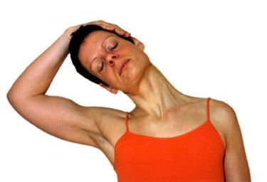 Nacken entspannen mit Yoga - (Rücken, Alternativmedizin, Schulter)
