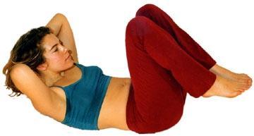 Bauchmuskel-Übung - (Schwangerschaft, Bauch, Muskeln)