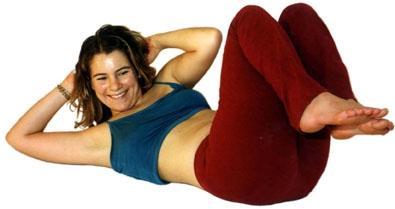 Übung zur Stärkung der schrägen Bauchmuskeln - (Schwangerschaft, Bauch, Muskeln)