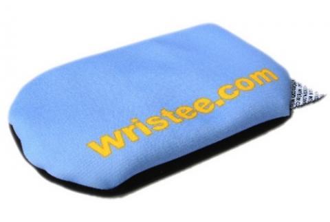 Atmungsaktive Handauflage wristee mousepads ohne Gel - (Schmerzen, Schmerzmittel, sehnenscheidenentzündung)