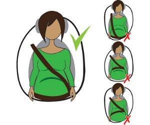 Bauchgurt - (Schwangerschaft, Babybauch, Sicherheitsgurt )