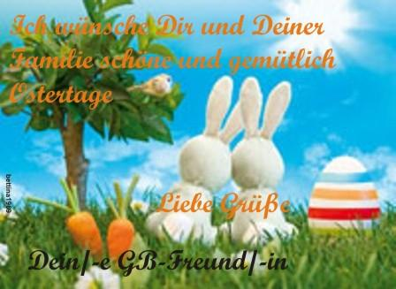 - (Ostern, Feiertrage)