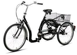 Dreirad für Erwachsene (Beispiel) - (Angst, Gleichgewicht, Unsicherheit)