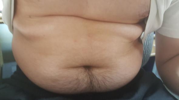 Ist mein Bauch dick?