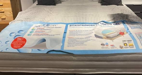 Rückenschmerzen durch neues Bett?