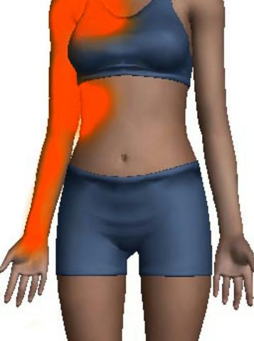 Schmerzen in der linken Oberkörper hälfte... was kann das sein?