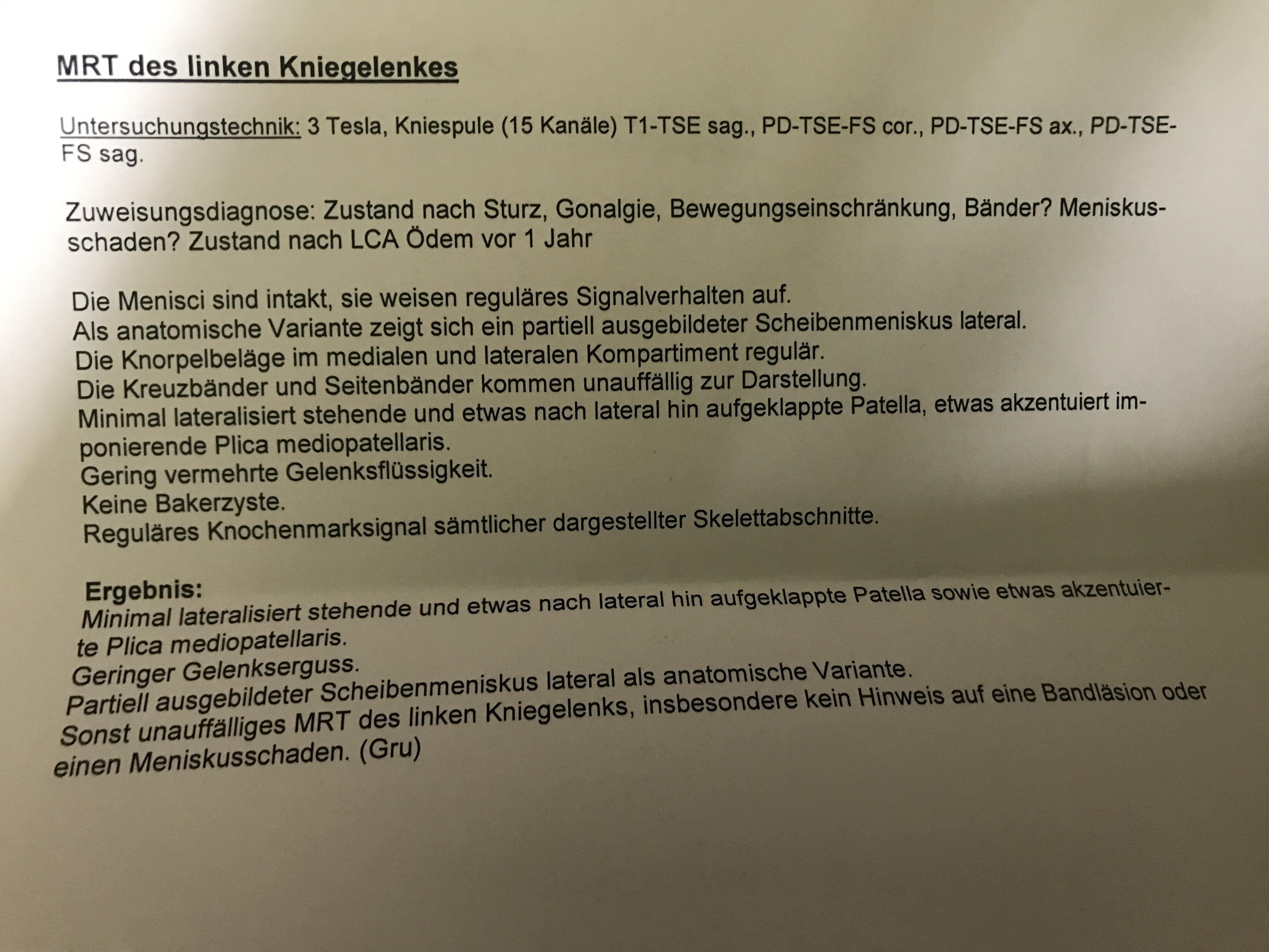 Nett Laterale Seitenband Anatomie Fotos - Physiologie Von ...